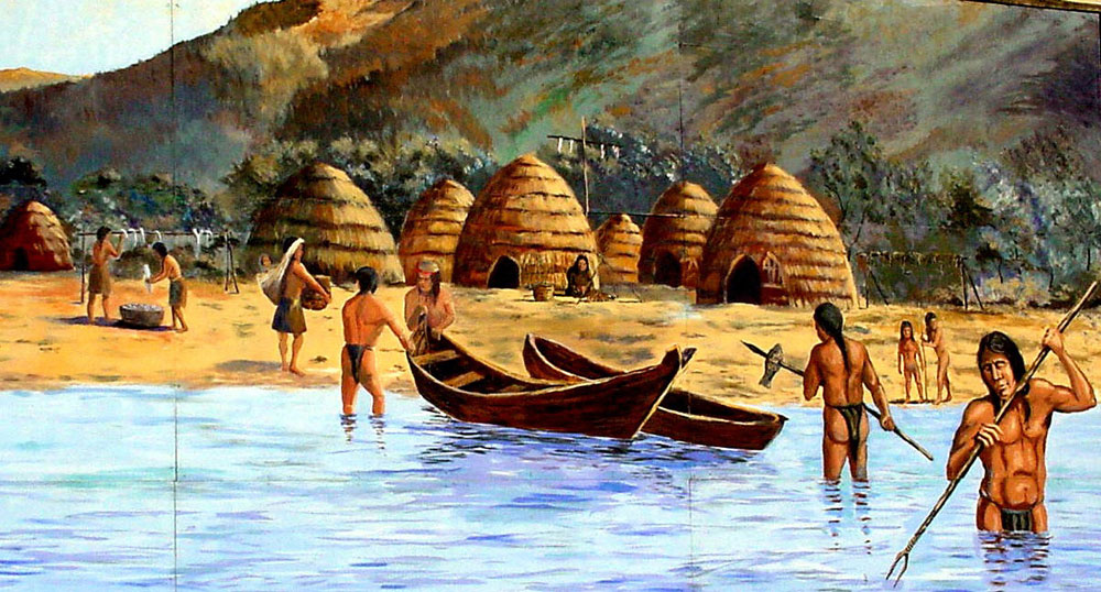 Southeast Indians Using Natural Resources
